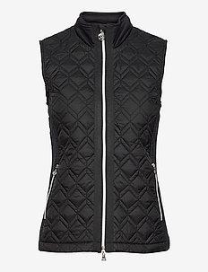 EVEN VEST - puffer vests - black