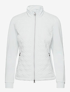 EVEN JACKET - golf jackets - white