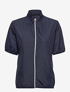 MIA SS WIND JACKET - golf jackets - navy
