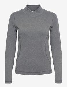 AGNES LS MOCK NECK - bluzki z długim rękawem - granite