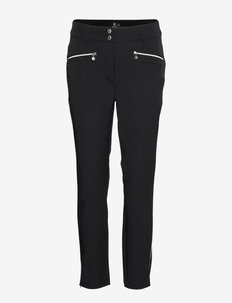 GLAM ANCLE PANTS - golf-housut - black