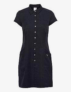LYRIC CAP/S DRESS - sports dresses - navy