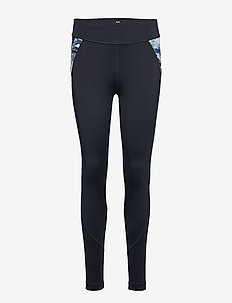RESILIENT TIGHTS - running & training tights - navy