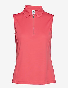 MACY SL POLO SHIRT - WATERMELON