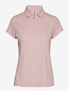 MACY CAP/S POLO SHIRT - BLUSH