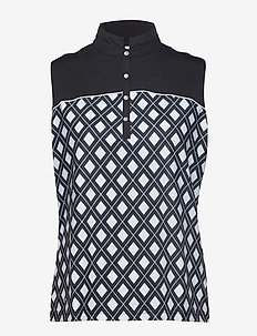 BRIE SL POLO SHIRT - BLACK