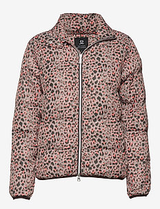 LEONA PADDED JACKET - sports jackets - almond