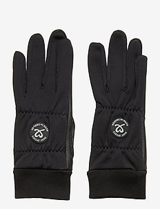 ELLA GLOVE WITH LOGO - BLACK