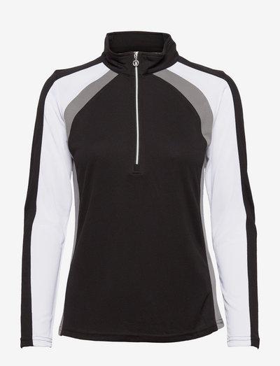 ROXA LS HALF NECK - sweatshirts - black