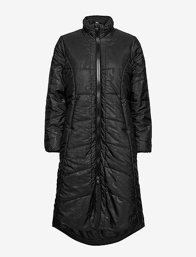 QUINCY PADDED COAT - parkacoats - black