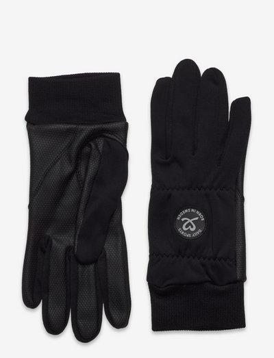 ELLA GLOVE WITH LOGO - accessories - black