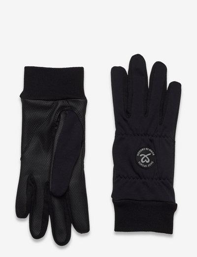 ELLA GLOVE WITH LOGO - accessories - navy