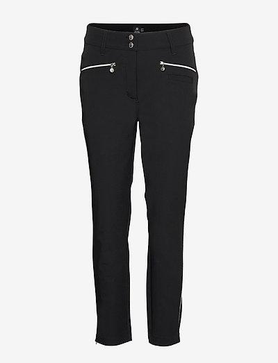 GLAM ANCLE PANTS - golfbukser - black