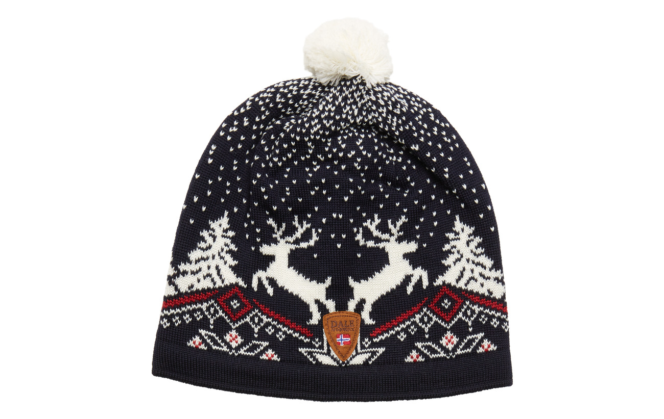 Dale of Norway Dale Christmas Hat - BLUE