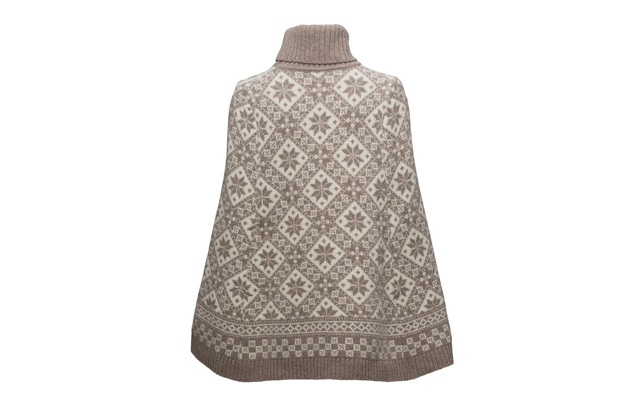 Rose 100 Sand Laine Of Dale Poncho Norway White off qO061Ex
