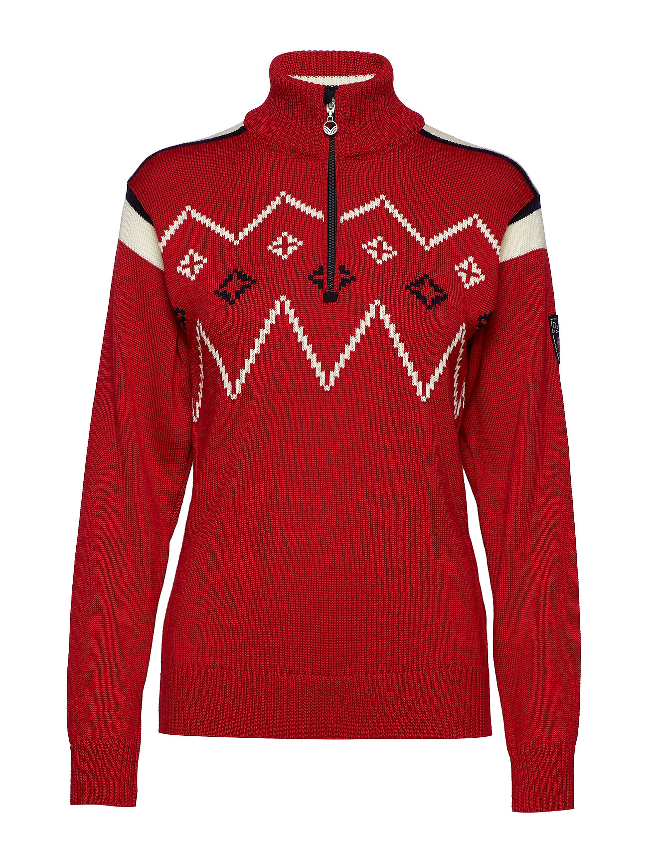 Feminine off Sweaterraspberry Norway WhiteDale Of Seefeld bvgIY7yf6