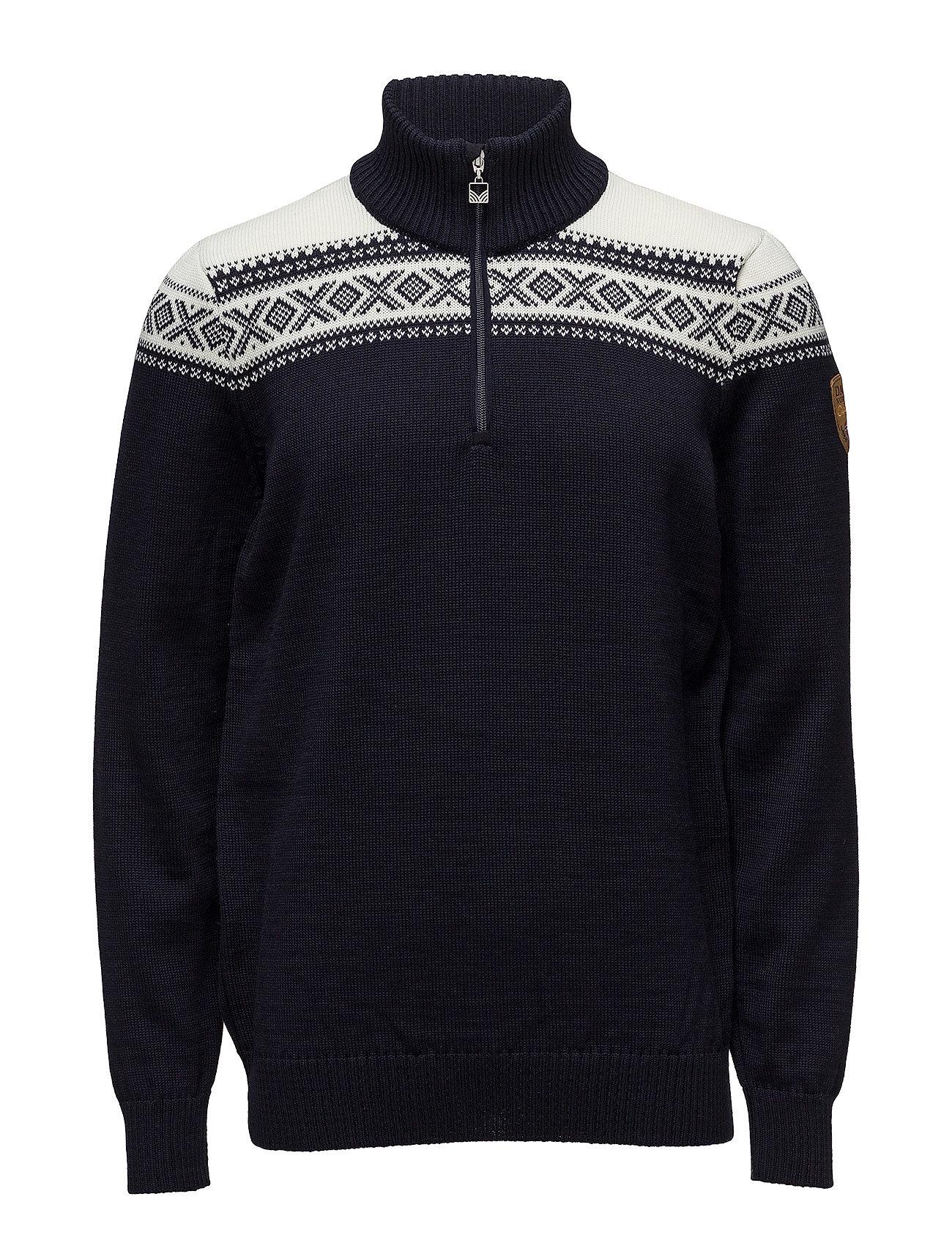 Dale of Norway Cortina Merino Masc Sweater - NAVY/OFF WHITE