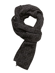 Sonja Scarf - BLACK/DARK GREY