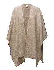 Rose shawl - BEIGE MEL./OFF WHITE