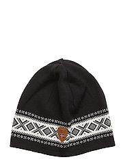 Cortina Merino hat - BLACK/WHITE