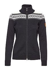 Cortina merino feminine jacket - BLACK/WHITE