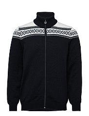 Cortina merino masculine jacke - BLACK/WHITE