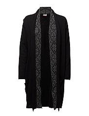 Nora feminine jacket - BLACK/SMOKE