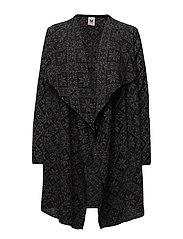 Flora feminine jacket - BLACK/SMOKE