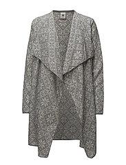 Flora feminine jacket - GRAU VIG/OFF WHITE