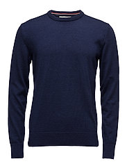 Magnus Masculine sweater - NAVY MEL.