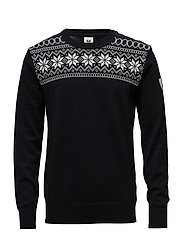 Garmisch Masc Sweater - BLACK/DARK CHARCOAL/OFF WHITE