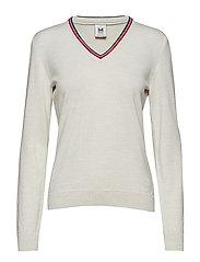 Kristin Feminine Sweater - OFF WHITE