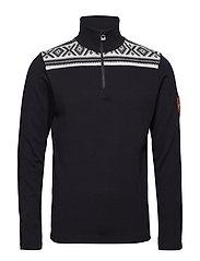 Cortina basic masculine sweater - BLACK/WHITE
