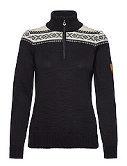 Cortina merino feminine sweate - BLACK