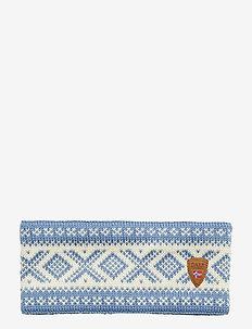 Cortina 1956 Headband - BLUE SHADOW/OFF WHITE