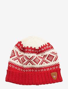 Cortina 1956 Hat - RASPBERRY/OFF WHITE