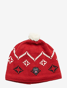 Seefeld Hat - RASPBERRY/OFF WHITE