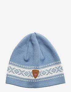 Cortina Merino hat - BLUE SHADOW/OFF WHITE