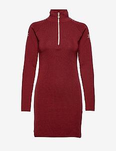 Geilo Fem Dress - RED