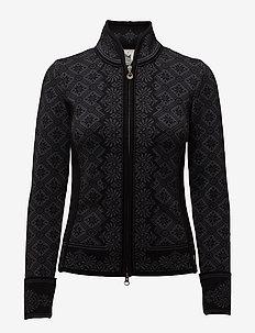 Christiania Fem Jacket - BLACK/DARK GREY