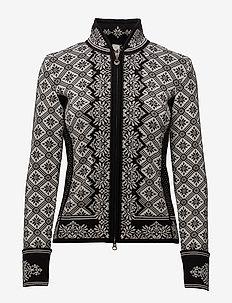 Christiania Fem Jacket - BLACK/OFF WHITE
