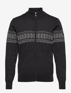 Hovden Masc Jacket - koftor - darkcharcoal/lightcharcoal