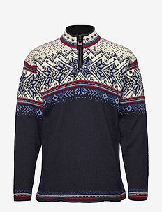 Vail Masc Sweater - rullekraver - blue