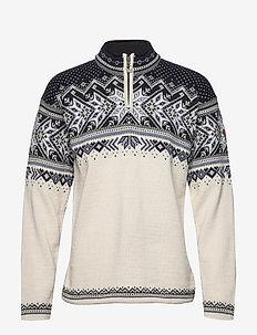 Vail Masc Sweater - golfy - white