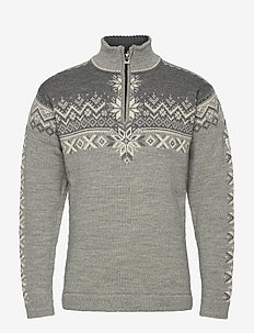 140th Anniversary Masc Sweater - góry - lightcharcoal/smoke/offwhite