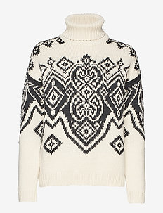 Falun Fem Sweater - WHITE