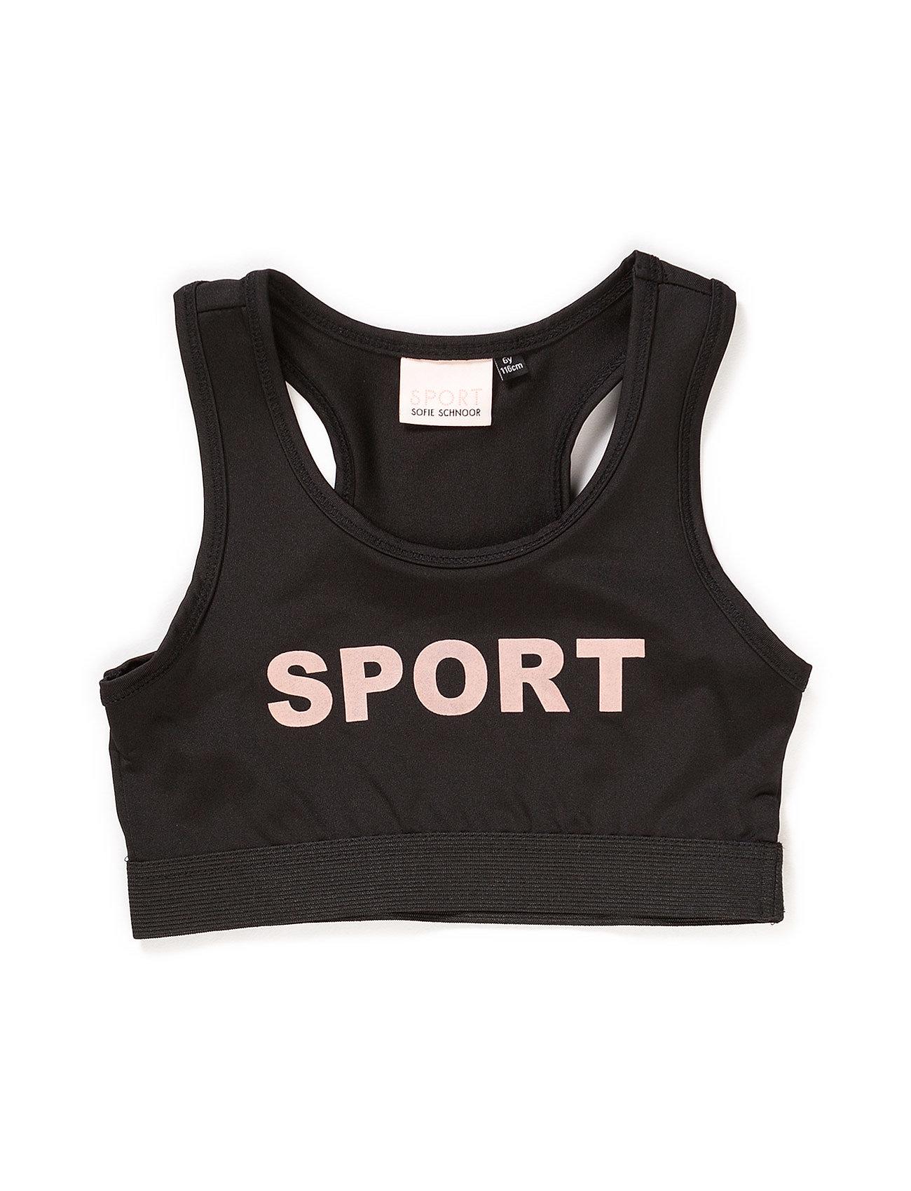 PETIT by Sofie Schnoor Sport top - BLACK