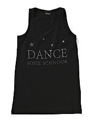 Tank top w/dance print