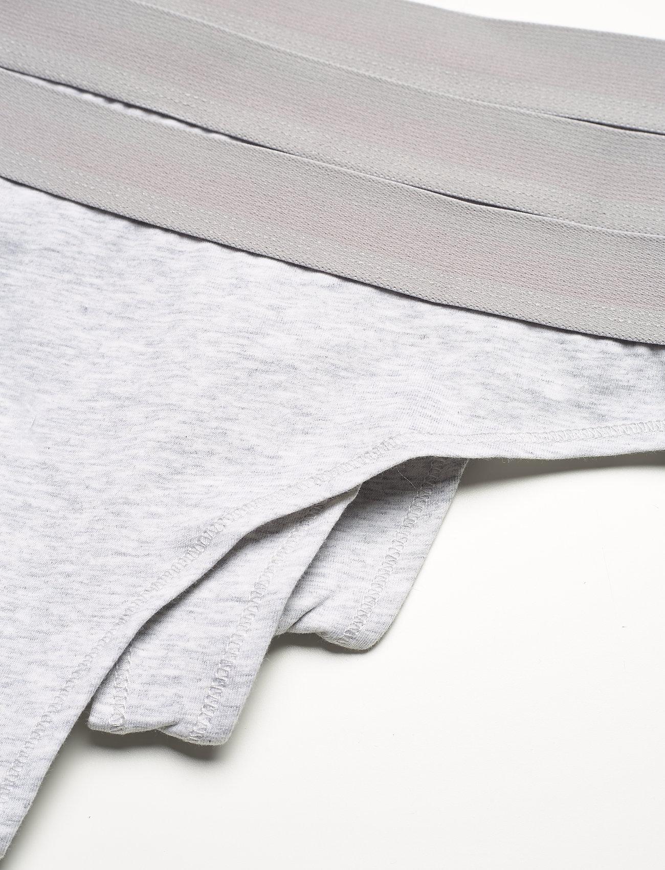 Danish Endurance - Organic Cotton Thong 3-pack - slips - grey - 1