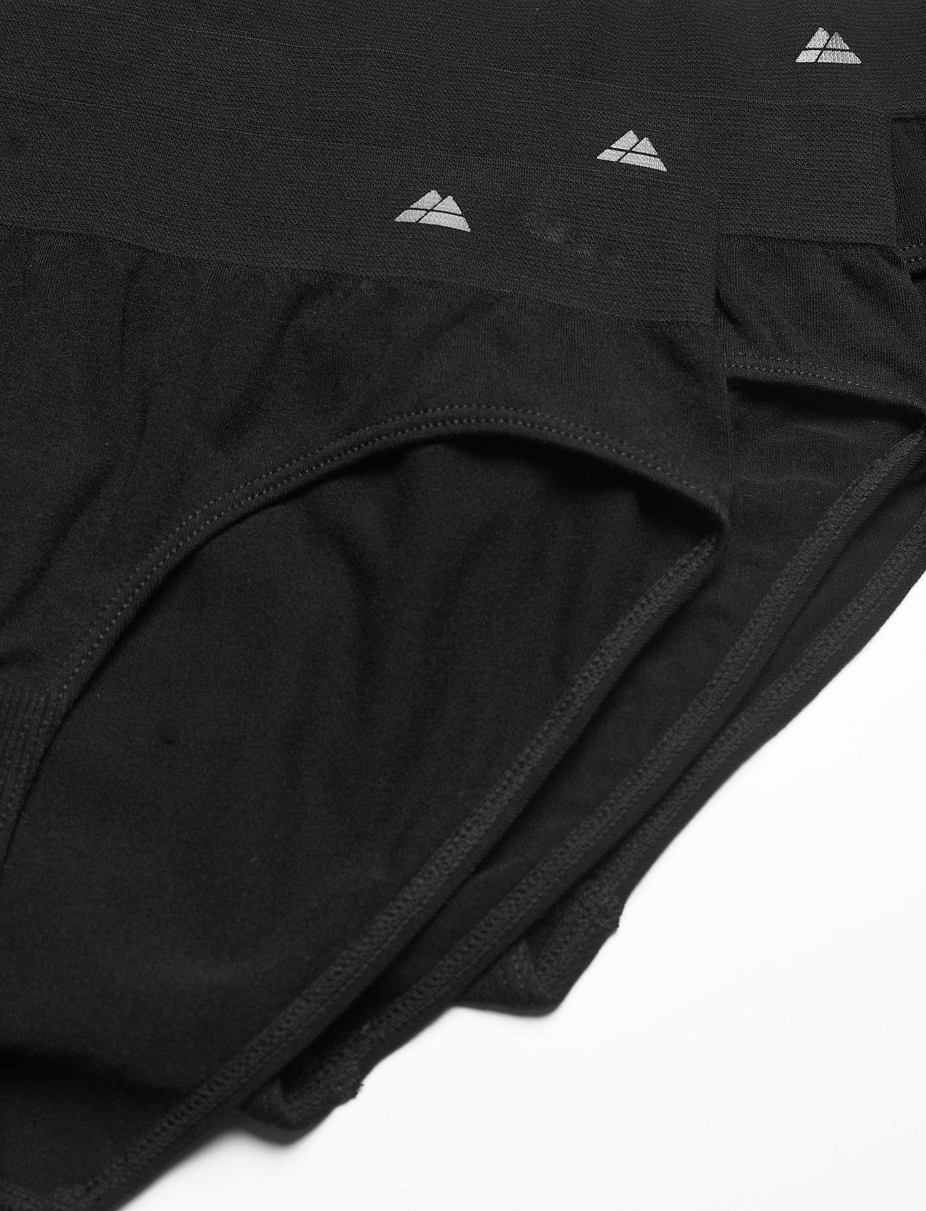 Danish Endurance - Womens Bamboo Bikini Briefs 3-pack - slips - black - 1
